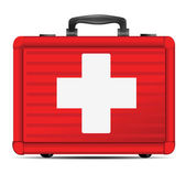 First aid case icon — Stock Vector