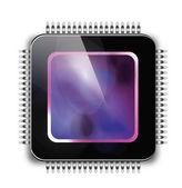 Computer chip — Stockvector