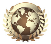 World award icon — Stock Vector