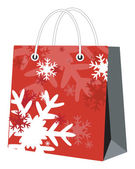 Christmas bag — Stock Vector
