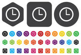 Time icon — Stock Vector