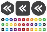 Media button — Stock Vector