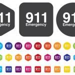 Emergency button — Stock Vector #47233213