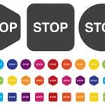 STOP button — Stock Vector #47233329