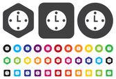 Time icon — ストックベクタ