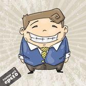 Cartoon man — Stock Vector