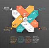 Infographics element — 图库矢量图片