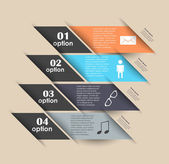 Conceptual vector Design template. infographics element — Stock Vector