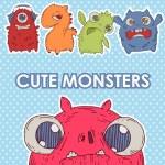 Monster set — Stock Vector #28002141