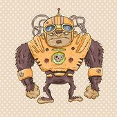 Uzay maymunu — Stok Vektör