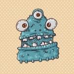 Monster slug — Stock Vector #30034597