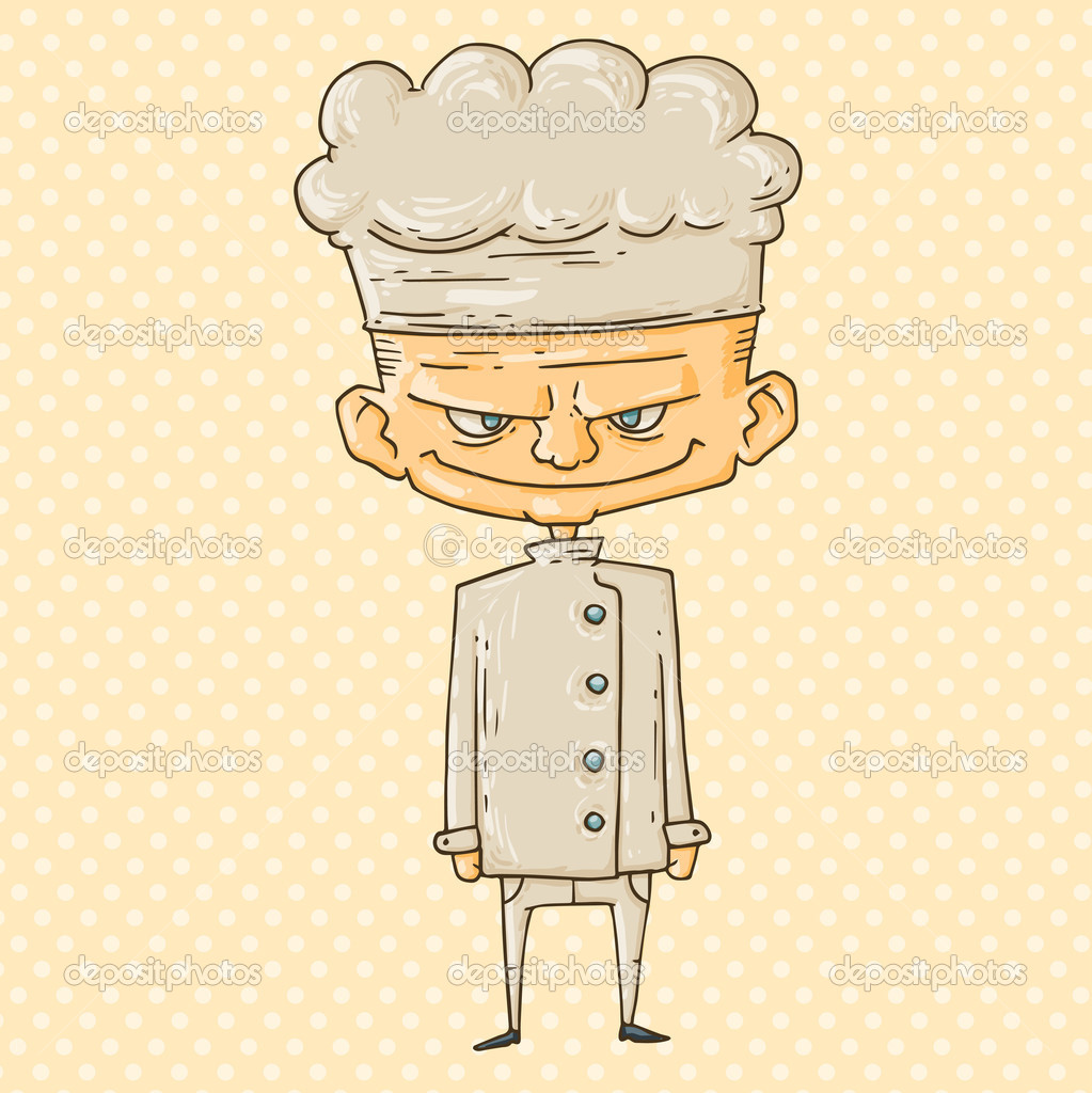 Cuisinier de dessin anim image vectorielle 30034571 for Cuisinier 94 photos