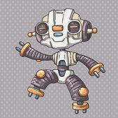 Robot kid — Stock Vector