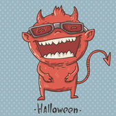 Little-devil — Stock Vector