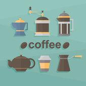 Coffee infographic — Stock Vector