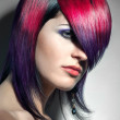 Hair coloured — Stock Photo #15389449