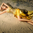 Golden nymph — Stock Photo
