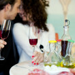 Young couple in restaurant — Stock Photo #16820955