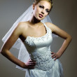 Portrait of a bride - Stock Photo
