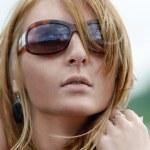 Retrato de una chica al aire libre — Foto de Stock