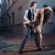 Stock Photo: Tango on street