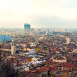 Royalty-Free Stock Photo: Aereal view of Brescia city from the castle