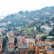Aereal view of Brescia city from the castle — Stock Photo