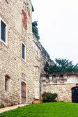 Entrée principale du château, brescia — Photo