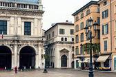 Streets of old Brescia — Stock Photo