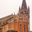 Chiesa St. Fermo, Verona, Italy, church - Stock Photo