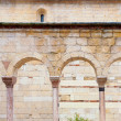 Ancient walls of Verona Churches — Stock Photo