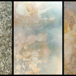 Polished marble textures — Stock Photo