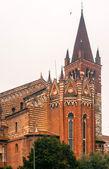Chiesa St. Fermo, Verona, Italy, church — Stock Photo