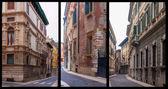 Verona sokakları, i̇talya — Stok fotoğraf