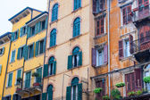 Piazza erba, verona, italia — Foto de Stock