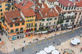 Piazza erba, verona, Italy — Photo