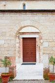 Ancient walls of Verona Churches — Stock Photo