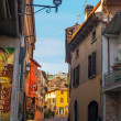 Old italy streets, desenzzano. — Stock Photo