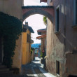 Old italy streets, desenzzano. - Stock Photo
