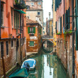 Canals of Venice, murano, burano — Stock Photo