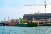 Hafen von venedig — Stockfoto