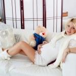 Беременные девочки дома