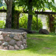 Stock Photo: Stone well in park