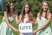 Love girls — Stock Photo