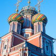Stock Photo: Christmas temple Nizhny Novgorod