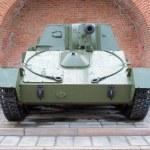 Russian self-propelled gun SU-76 — Stock Photo #34923665
