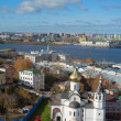 Panorama of Nizhny Novgorod — Stock Photo