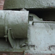 Intimate details of the tank T-34 — Stockfoto