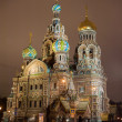 Cathedral of the Savior on Spilled Blood in St. Petersburg — Stock Photo