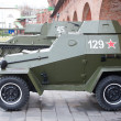Russian armored car — Stock Photo